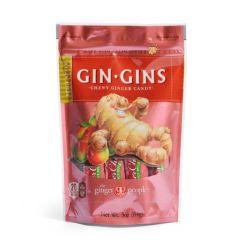 DULCE GINGINS SPICY APPLE CHEWY GINGER CANDY 84 GR