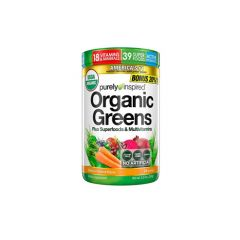 ORGANIC GREENS 280 GRS PURELY INSPIRED